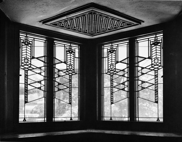 Robie House windows