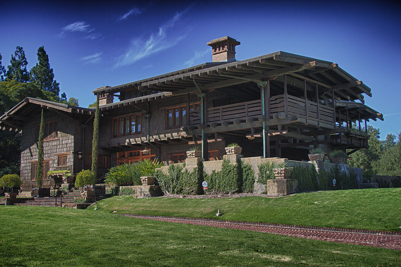 Greene and Greene's Gamble House
